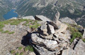 Crocetta mountain top, Ceresole Reservoir, Italy