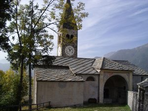 Elva, Church of Santa Maria Assunta, Italy