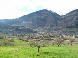Jovencan, Aosta Valley, Italy