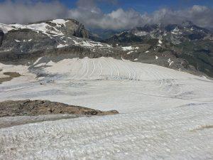 La Grande Motte Glacier, France