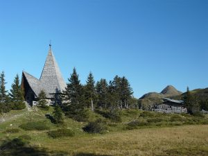 Lake Zollner Peace Chapel, Austria