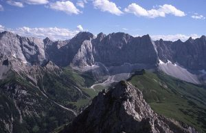 Laliderer Waende mountains, Austria
