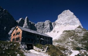 Lamsenspitze Mountain, Lamsenjoch Hut, Austria