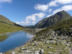 Oberer Stuckensee Lake, Leitental Valley, Austria