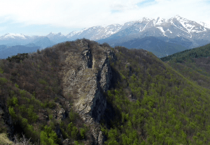 Rocca delle Penne mountain, Italy