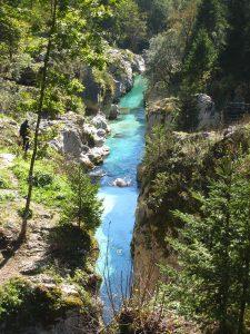 Soča (Isonzo) river, Vršič pass , Slovenia