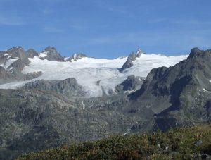 Testa del Rutor mountain, Aosta Valley, Italy