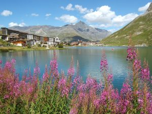 Tignes, Tignes Lake, France