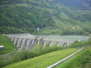 Val Grosina, Fusino Reservoir, Italy