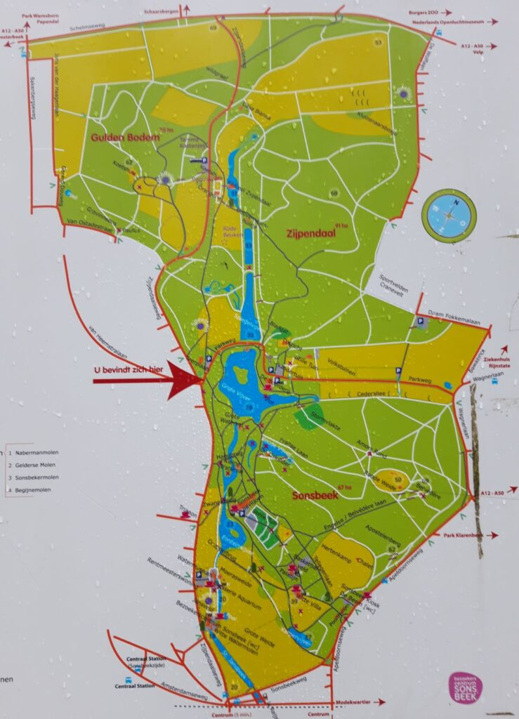 20201229_133943 (2) - Arnhem (NL) - park Sonsbeek - park Zijpendaal plattegrond