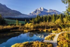 Lake Zelenci, Slovenia